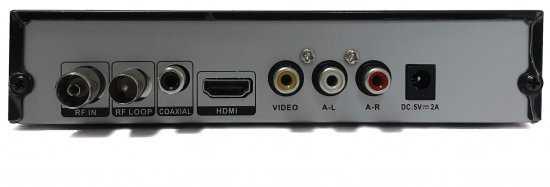ממיר לשידור עידן+ DVBT2 HD מבית Silver Line - תמונה 2