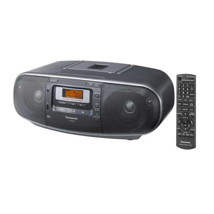 מערכת שמע ניידת Panasonic RXD55 פנסוניק - תמונה 1