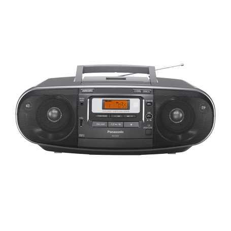 מערכת שמע ניידת Panasonic RXD55 פנסוניק - תמונה 2