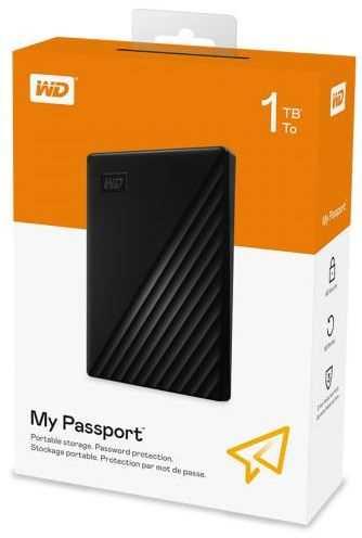 כונן אחסון חיצוני 1TB WDBYVG0010BBK Western Digital - תמונה 5