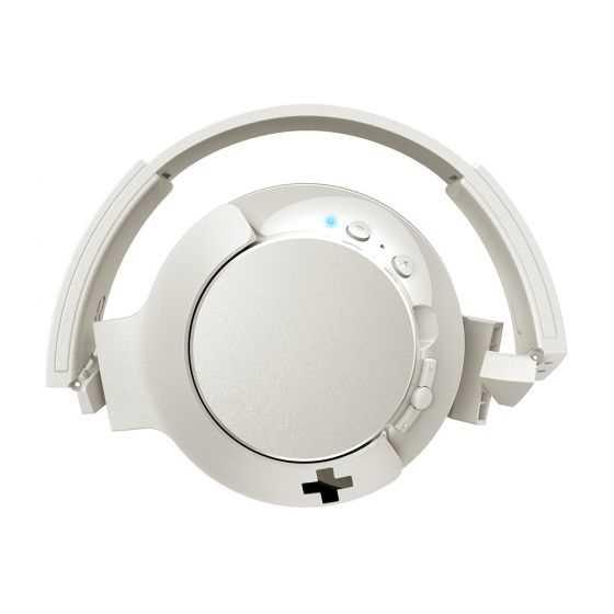 אוזניות Philips BASS+ SHB3175WT Bluetooth פיליפס לבן - תמונה 3