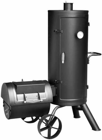 מעשנת פחמים אייכותית חבית עומדת דגם Orenda AY0319 מבית El Fuego - תמונה 1