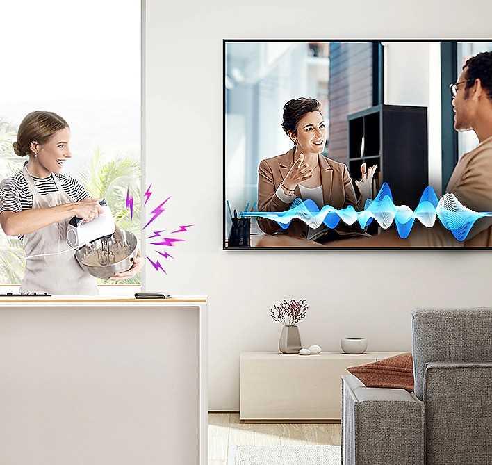 טלוויזיה Samsung QE55Q70T SMART QLED 4K 55 אינטש סמסונג - תמונה 7