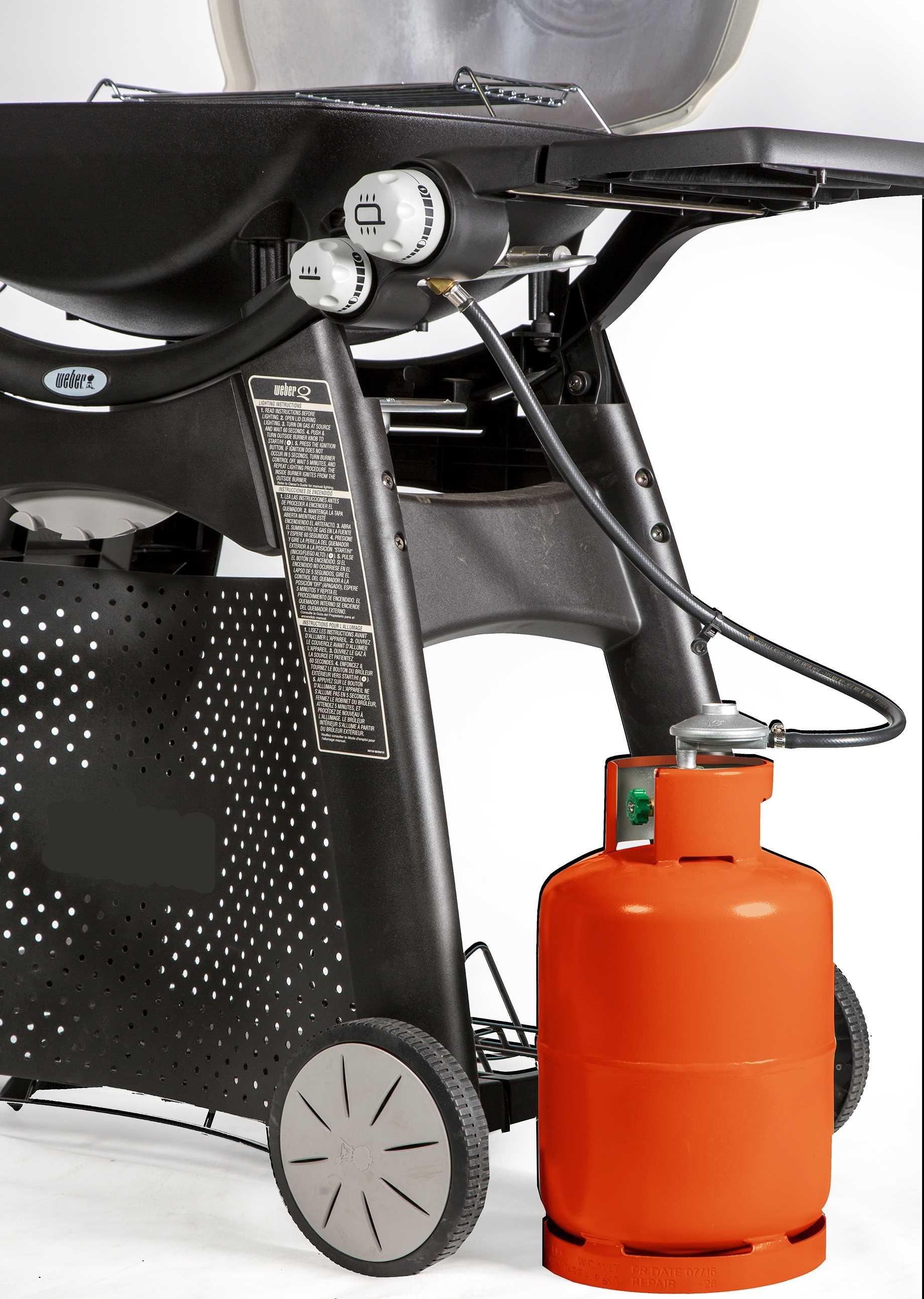גריל גז דגם Q3200 מורכב תוצרת WEBER וובר - תמונה 5