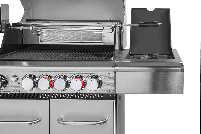 גריל גז מפואר Australia Chef MAYORCA 8240ENR - תמונה 4