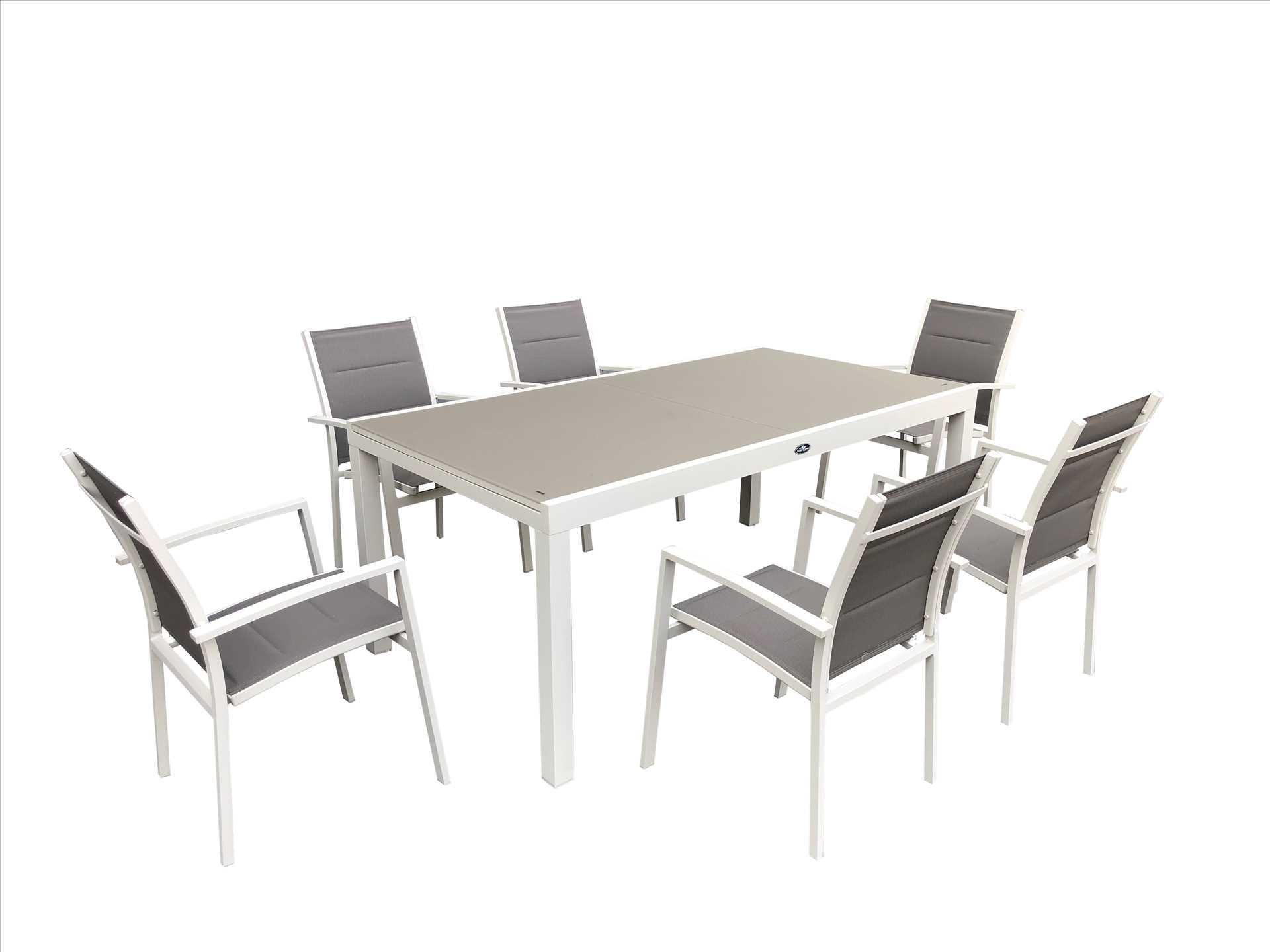 פינת אוכל מפוארת עם 6 כסאות דגם Miami תוצרת Australia Garden - תמונה 1