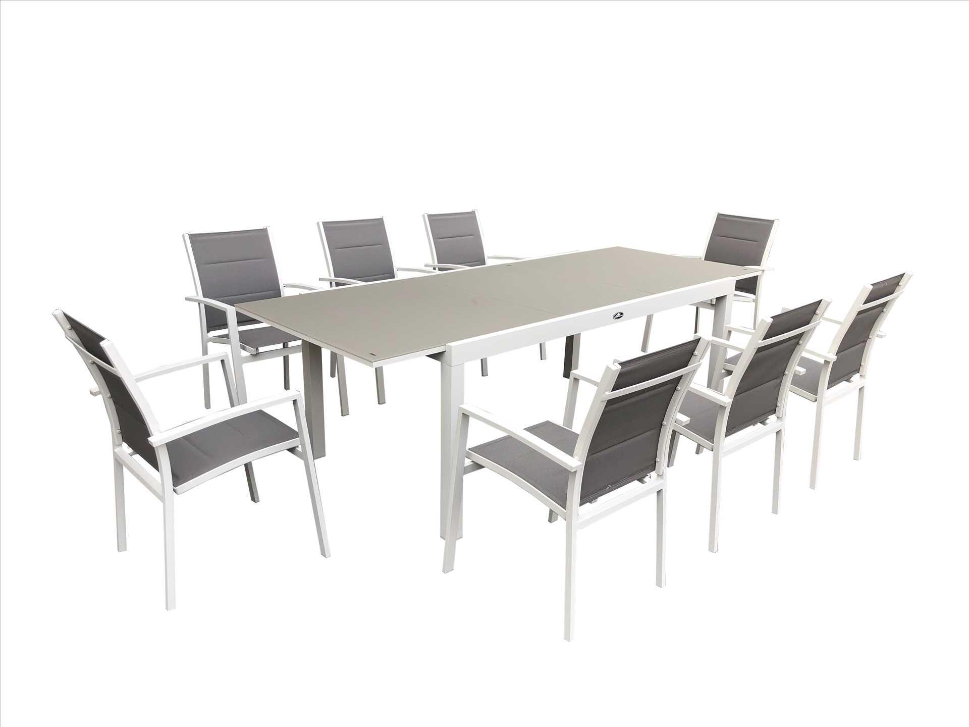 פינת אוכל מפוארת עם 6 כסאות דגם Miami תוצרת Australia Garden - תמונה 2