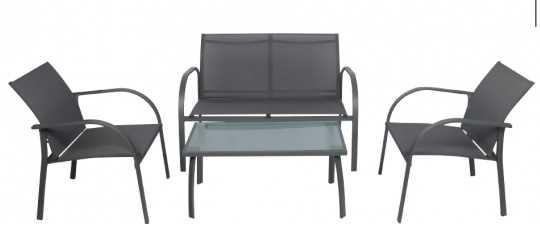 מערכת ישיבה קאפלו 2+1+1+שולחן Cappello תוצרת Australia Garden - תמונה 2