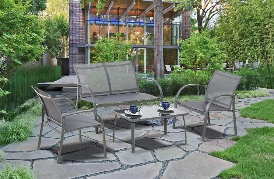 מערכת ישיבה קאפלו 2+1+1+שולחן Cappello תוצרת Australia Garden - תמונה 1