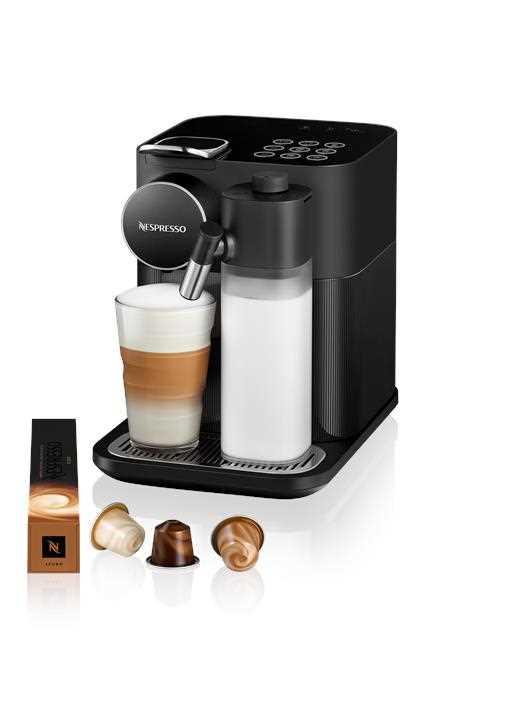 מכונת קפה NESPRESSO גראן לטיסימה בגוון שחור דגם F531 - תמונה 1