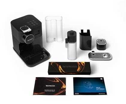 מכונת קפה NESPRESSO גראן לטיסימה בגוון שחור דגם F531 - תמונה 6