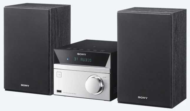 מערכת סטריאו Sony CMT-SBT20 סוני - תמונה 1