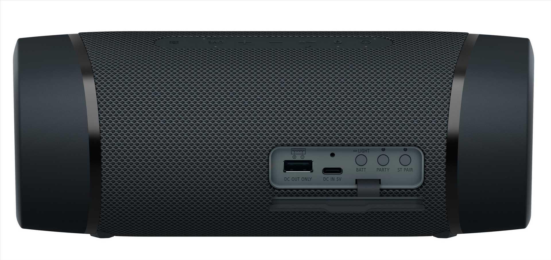 רמקול נייד סוני שחור SONY SRS-XB33B סוני - תמונה 5