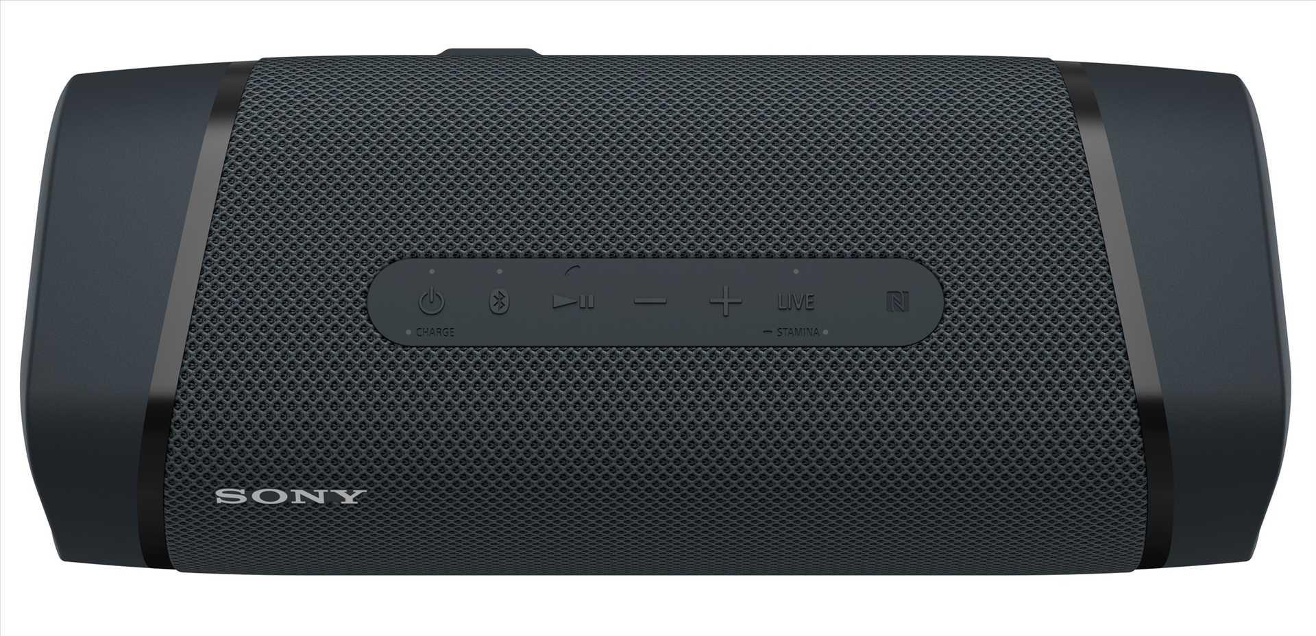 רמקול נייד סוני שחור SONY SRS-XB33B סוני - תמונה 6