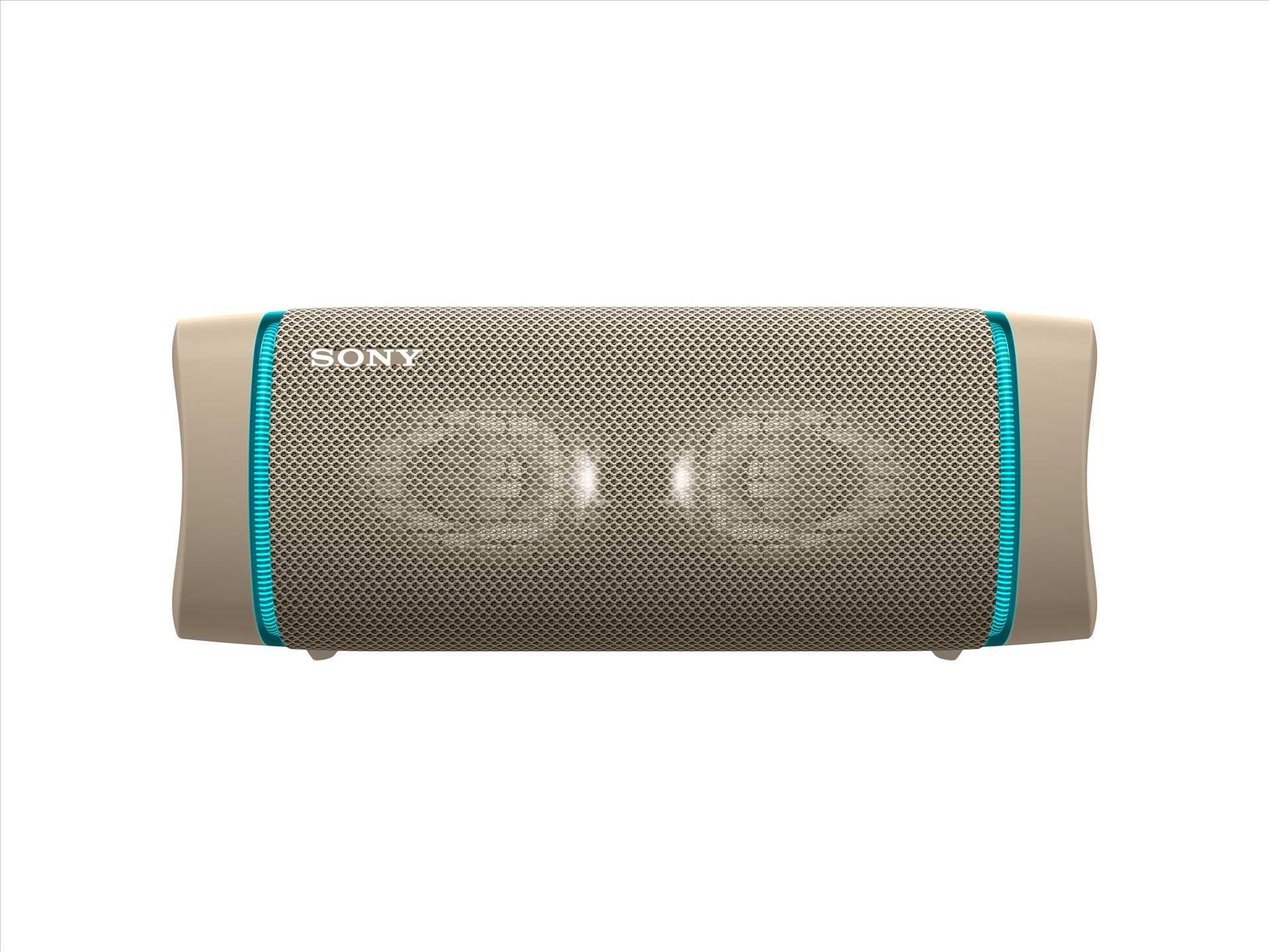 רמקול נייד סוני צבע בז' SONY SRS-XB33C סוני - תמונה 1