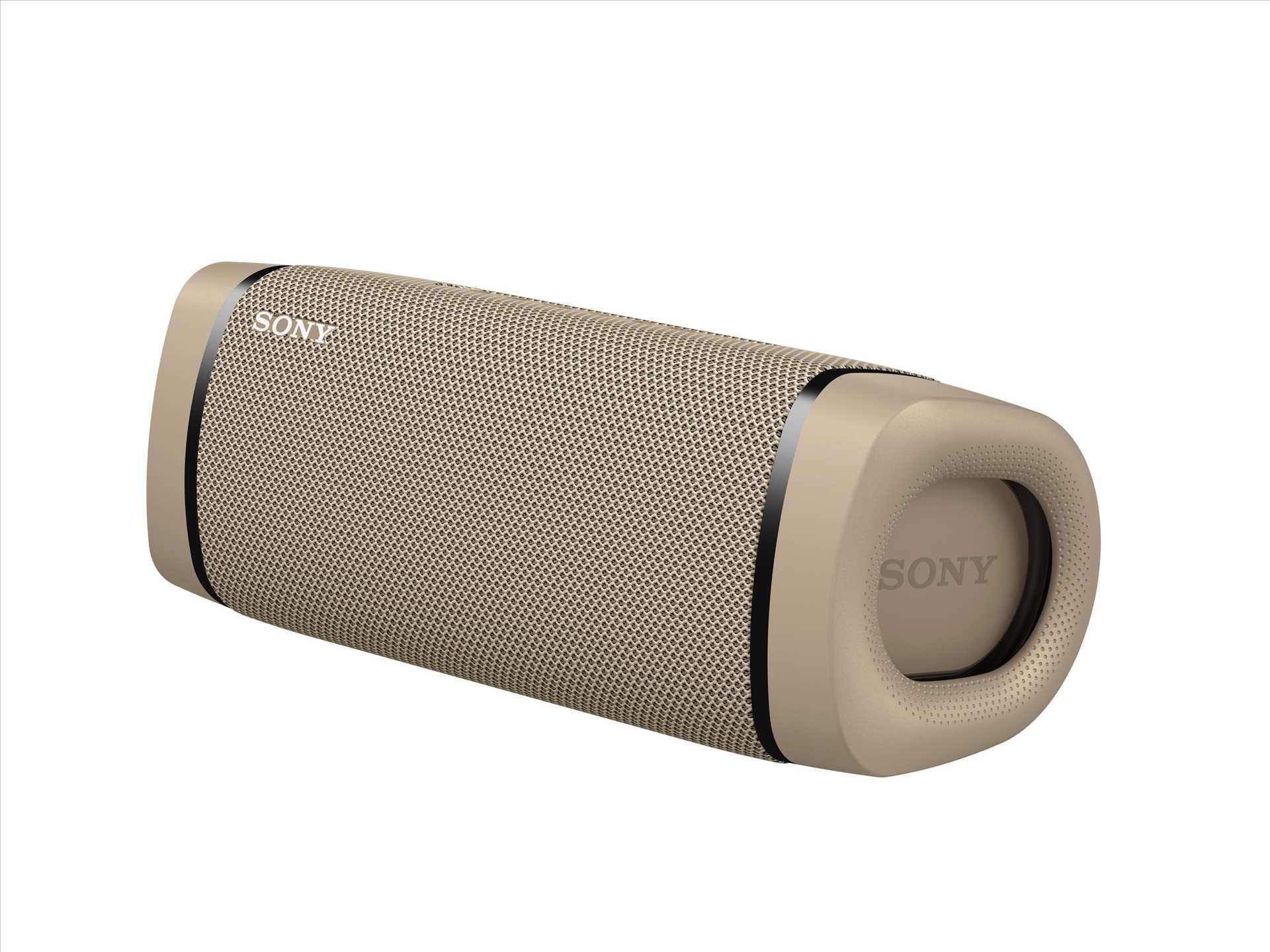 רמקול נייד סוני צבע בז' SONY SRS-XB33C סוני - תמונה 3