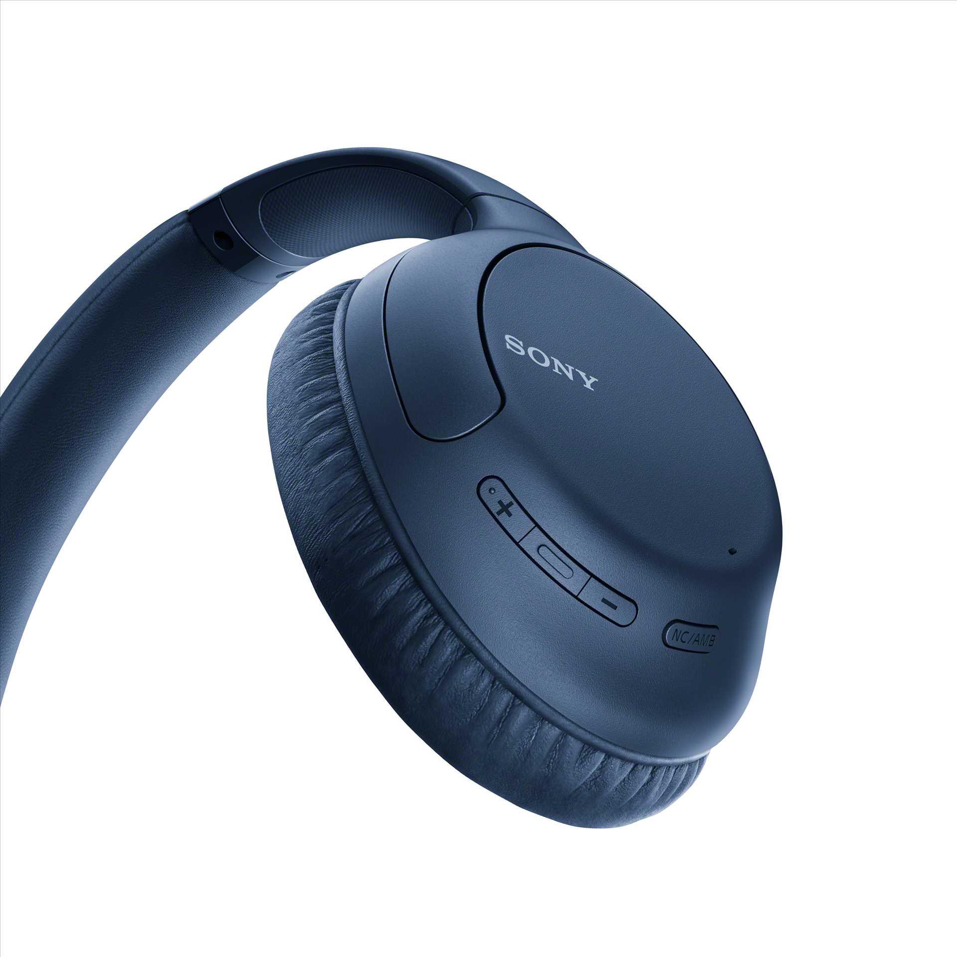 אוזניות Sony WH-CH710NL Bluetooth סוני כחולות - תמונה 5