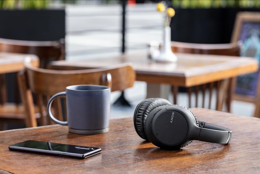 אוזניות Sony WH-CH710NL Bluetooth סוני כחולות - תמונה 7