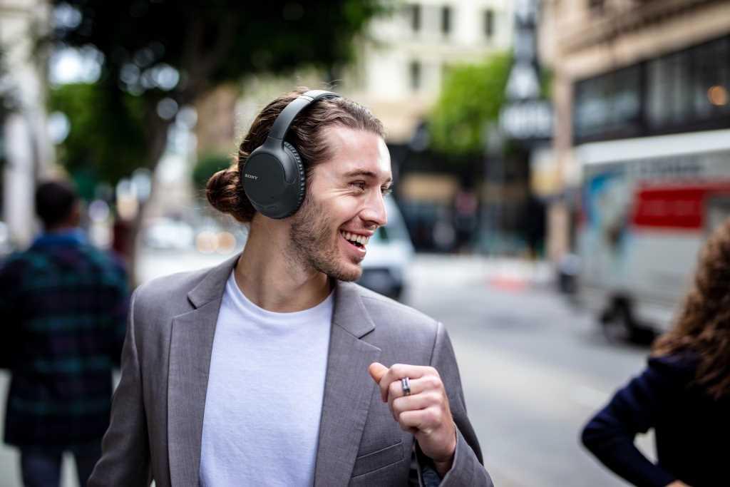 אוזניות Sony WH-CH710NL Bluetooth סוני כחולות - תמונה 11