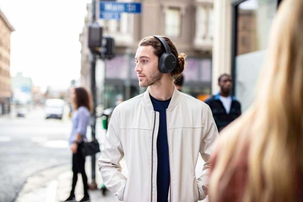 אוזניות Sony WH-CH710NL Bluetooth סוני כחולות - תמונה 12