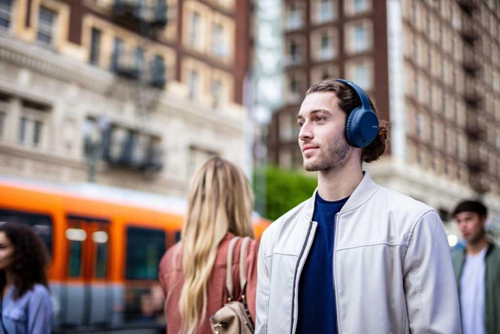אוזניות Sony WH-CH710NL Bluetooth סוני כחולות - תמונה 13