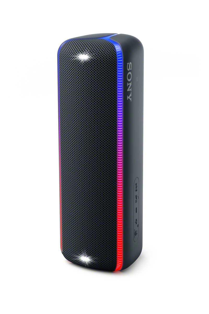 רמקול נייד שחור Sony SRS-XB32B סוני - תמונה 6