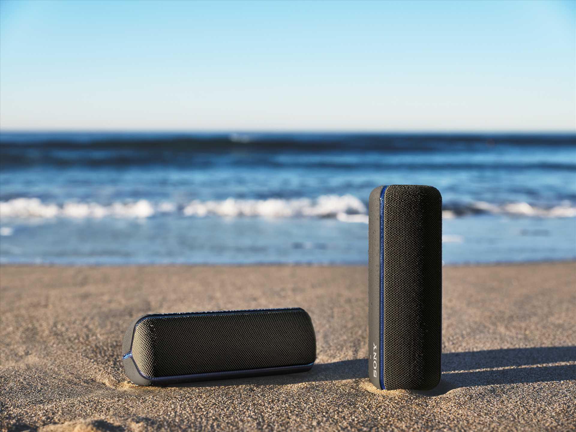 רמקול נייד שחור Sony SRS-XB32B סוני - תמונה 18