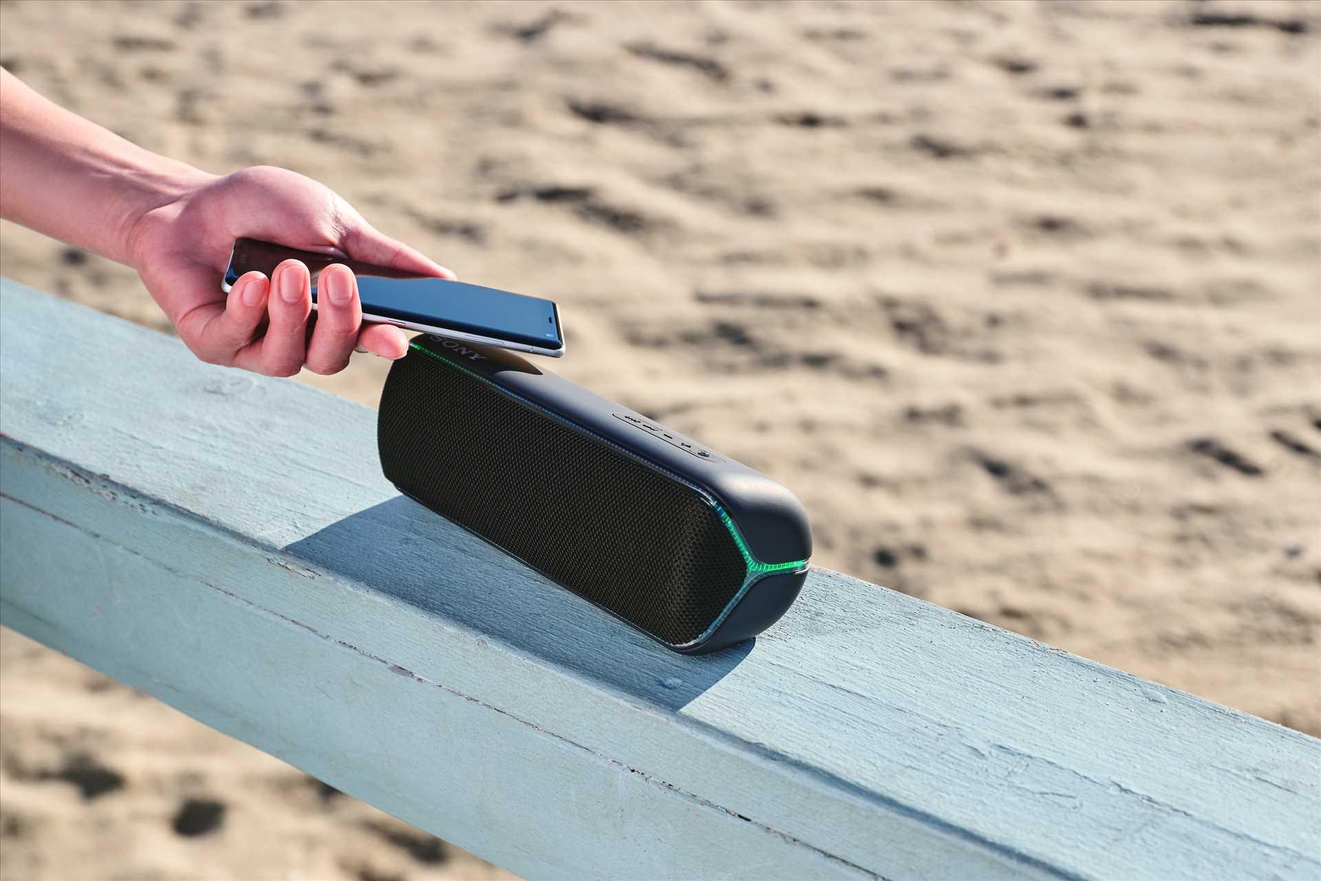 רמקול נייד שחור Sony SRS-XB32B סוני - תמונה 14
