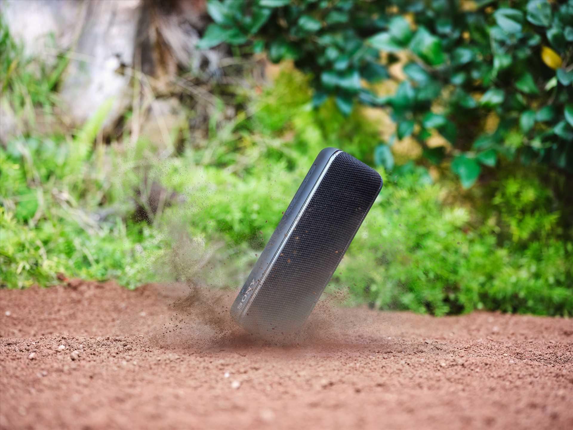 רמקול נייד שחור Sony SRS-XB32B סוני - תמונה 16