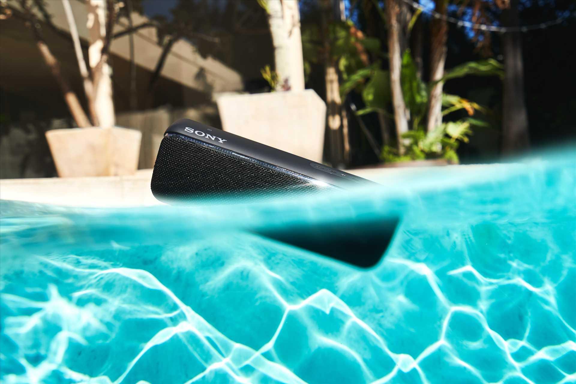 רמקול נייד שחור Sony SRS-XB32B סוני - תמונה 17