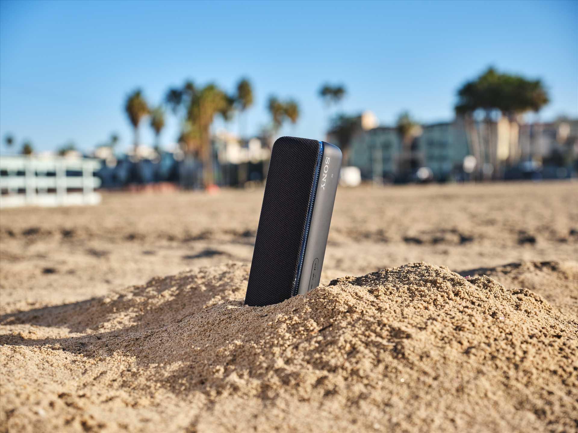 רמקול נייד אפור Sony SRS-XB32H סוני - תמונה 9
