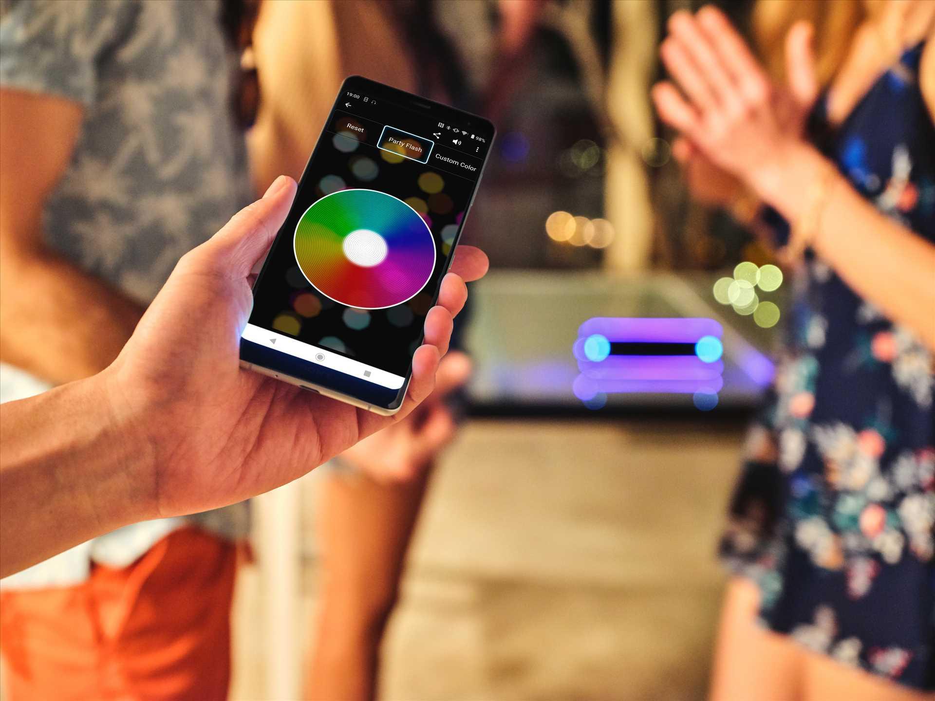 רמקול נייד אפור Sony SRS-XB32H סוני - תמונה 10