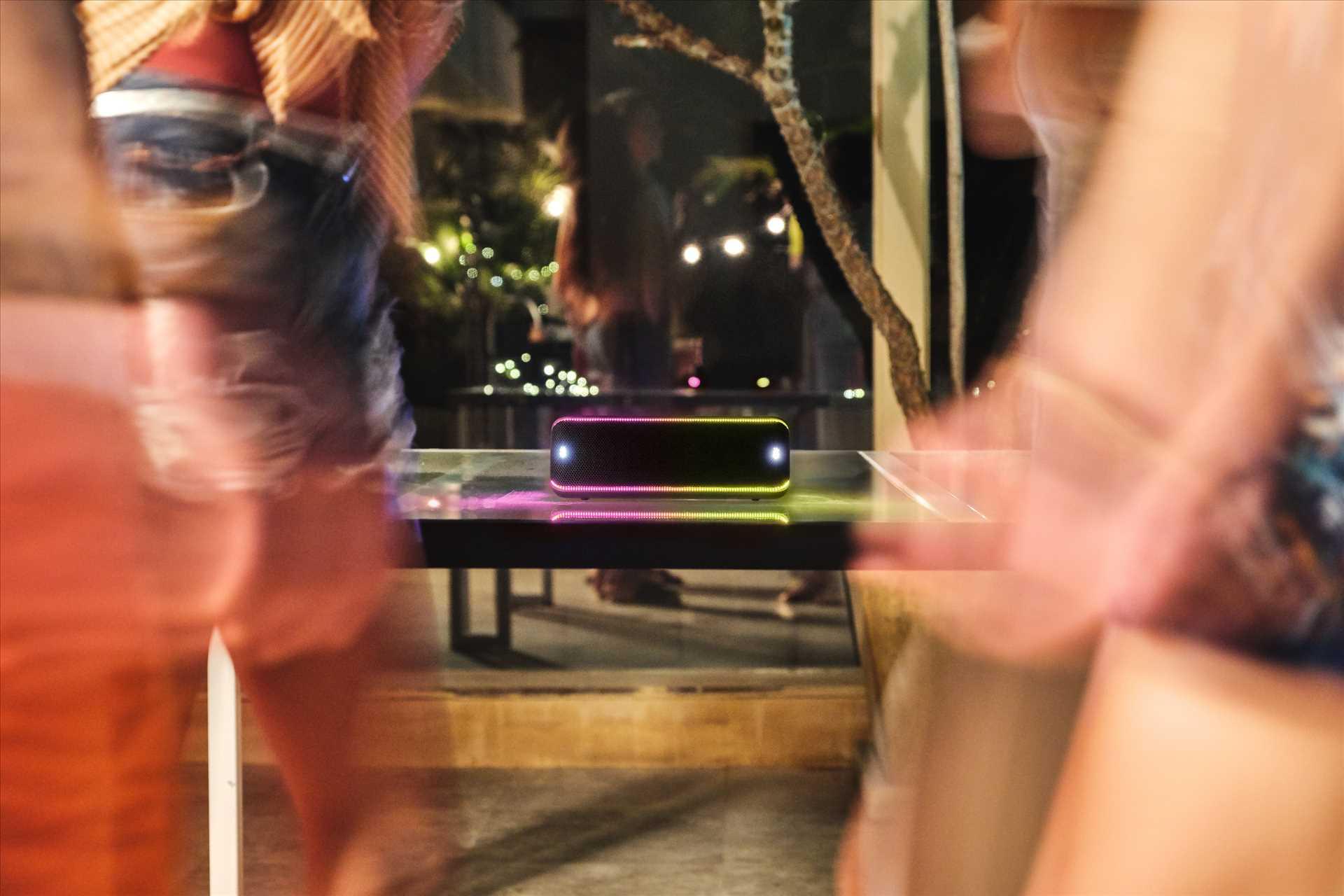 רמקול נייד אפור Sony SRS-XB32H סוני - תמונה 12
