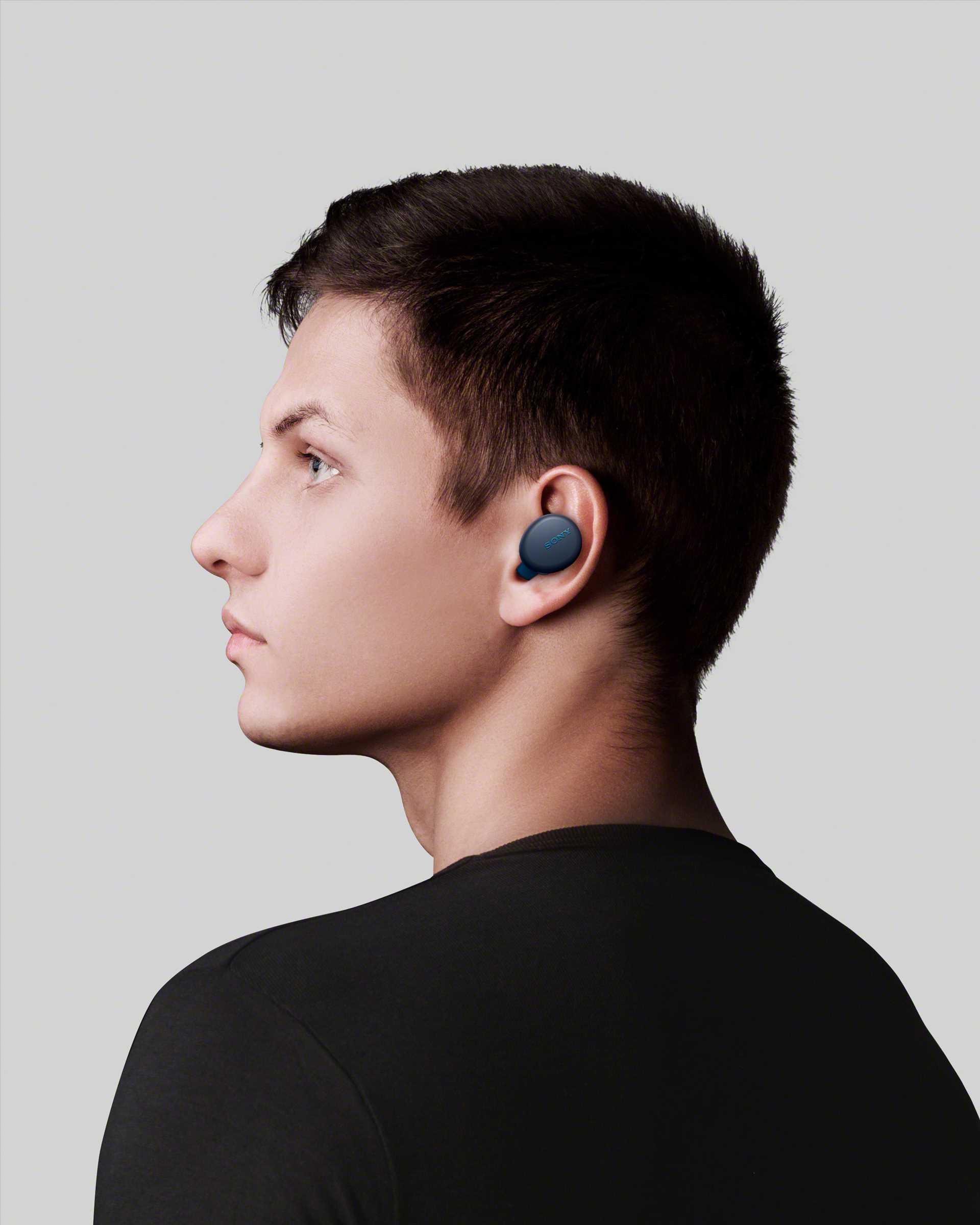אוזניות Sony WF-XB700L True Wireless סוני כחולות - תמונה 10