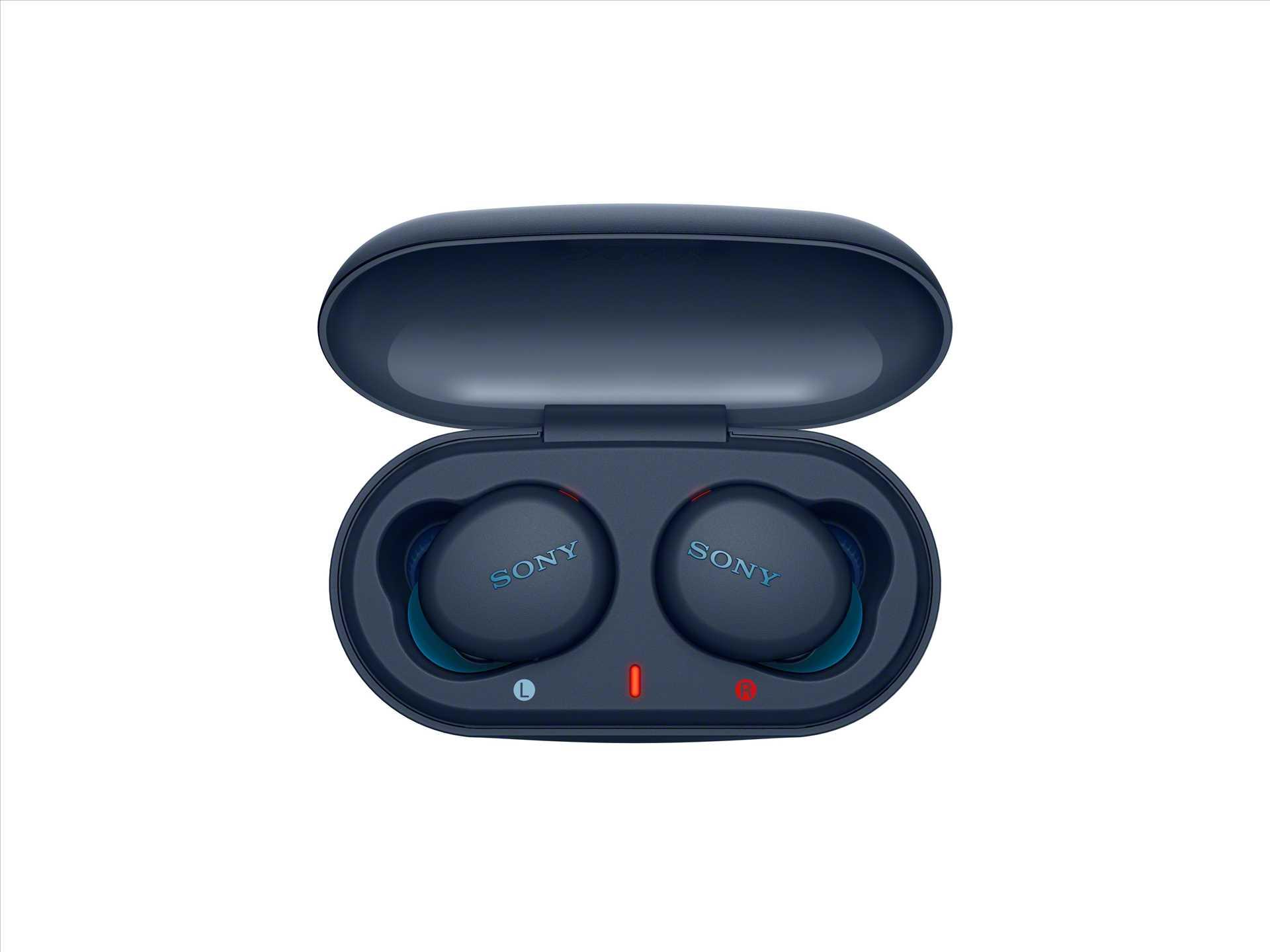 אוזניות Sony WF-XB700L True Wireless סוני כחולות - תמונה 5