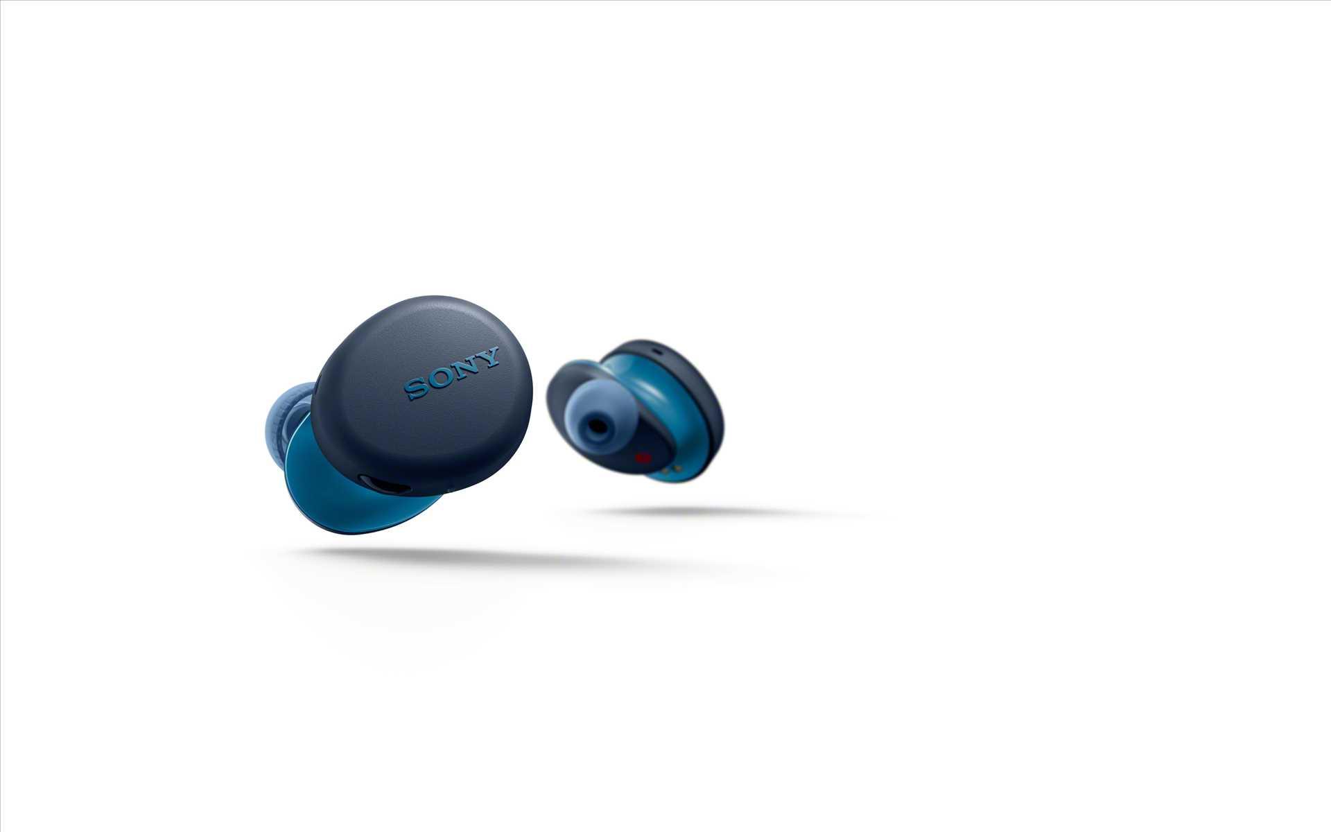אוזניות Sony WF-XB700L True Wireless סוני כחולות - תמונה 7