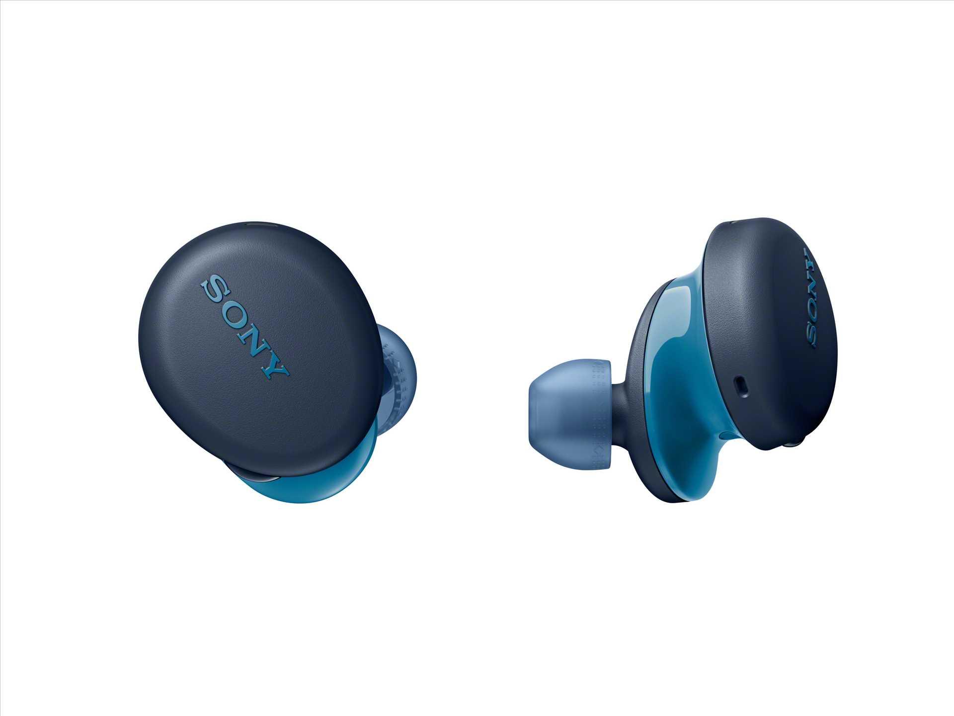אוזניות Sony WF-XB700L True Wireless סוני כחולות - תמונה 8