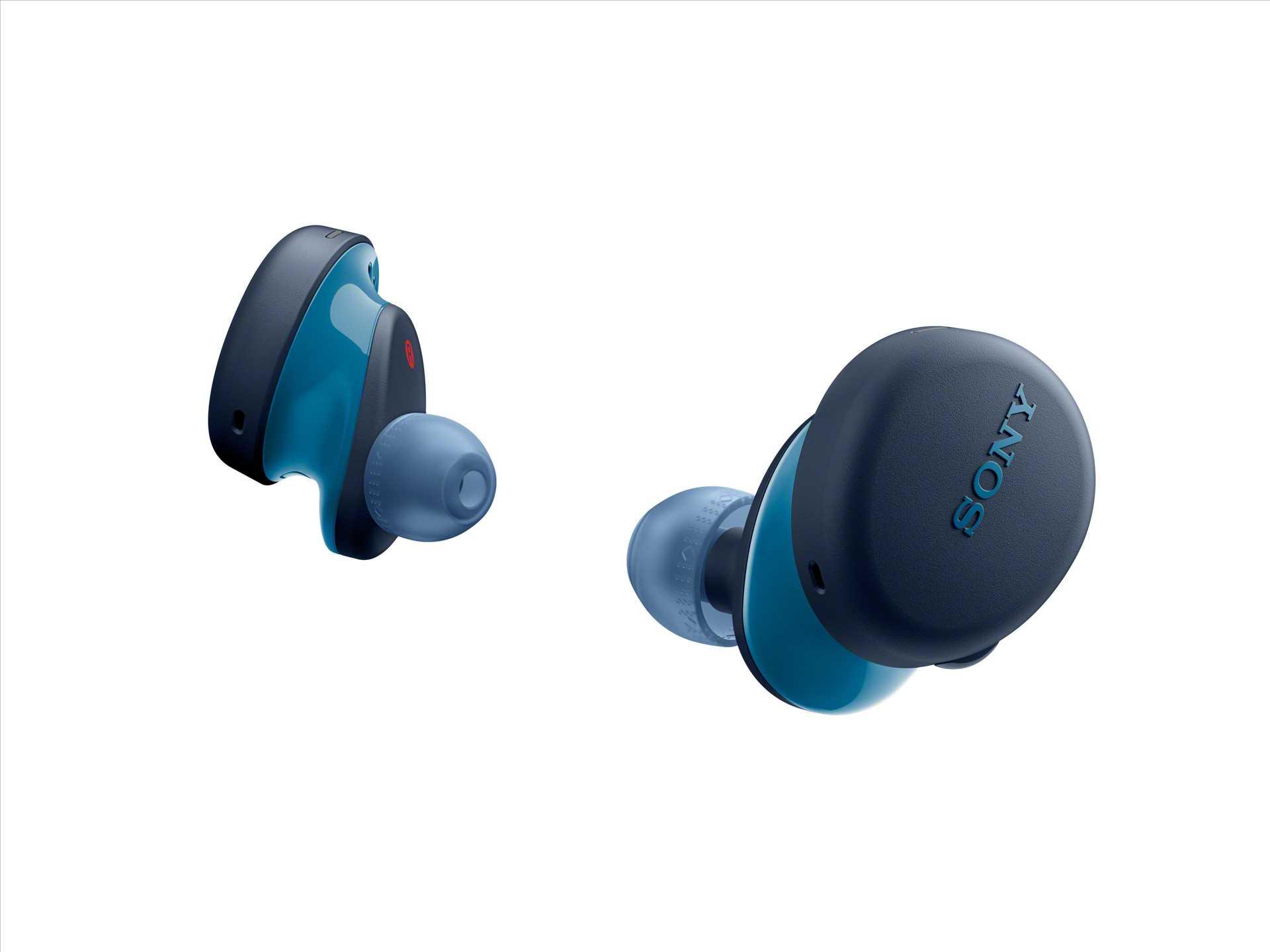 אוזניות Sony WF-XB700L True Wireless סוני כחולות - תמונה 9
