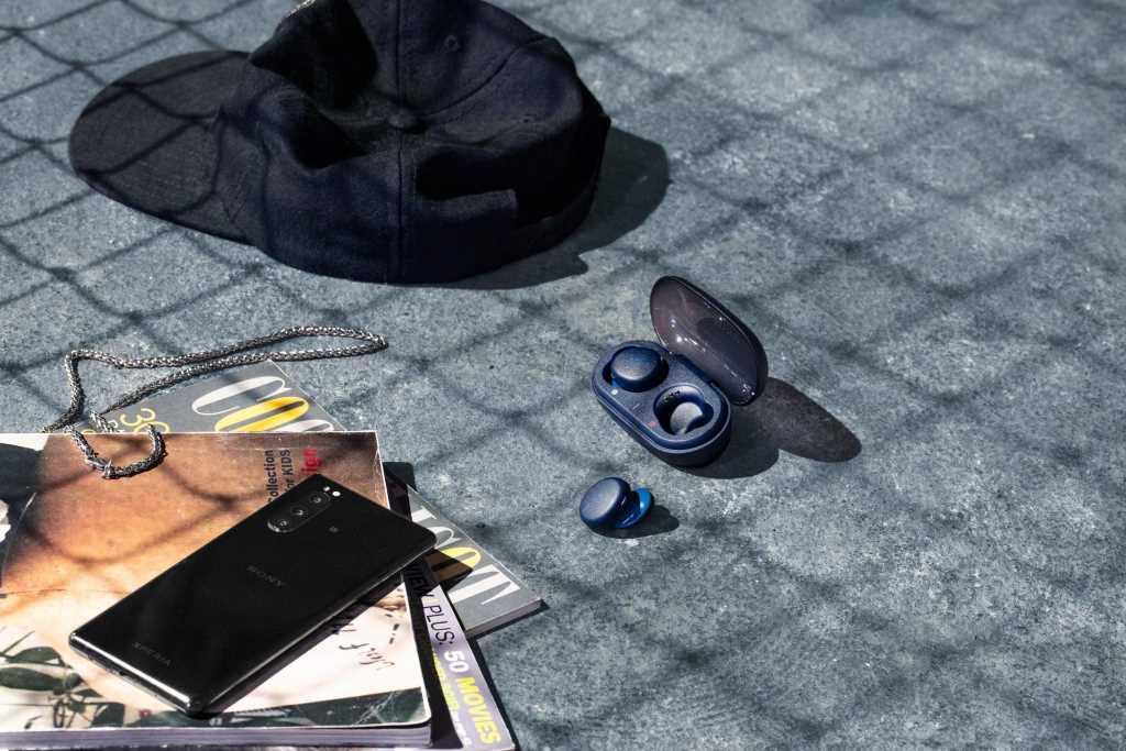 אוזניות Sony WF-XB700L True Wireless סוני כחולות - תמונה 15