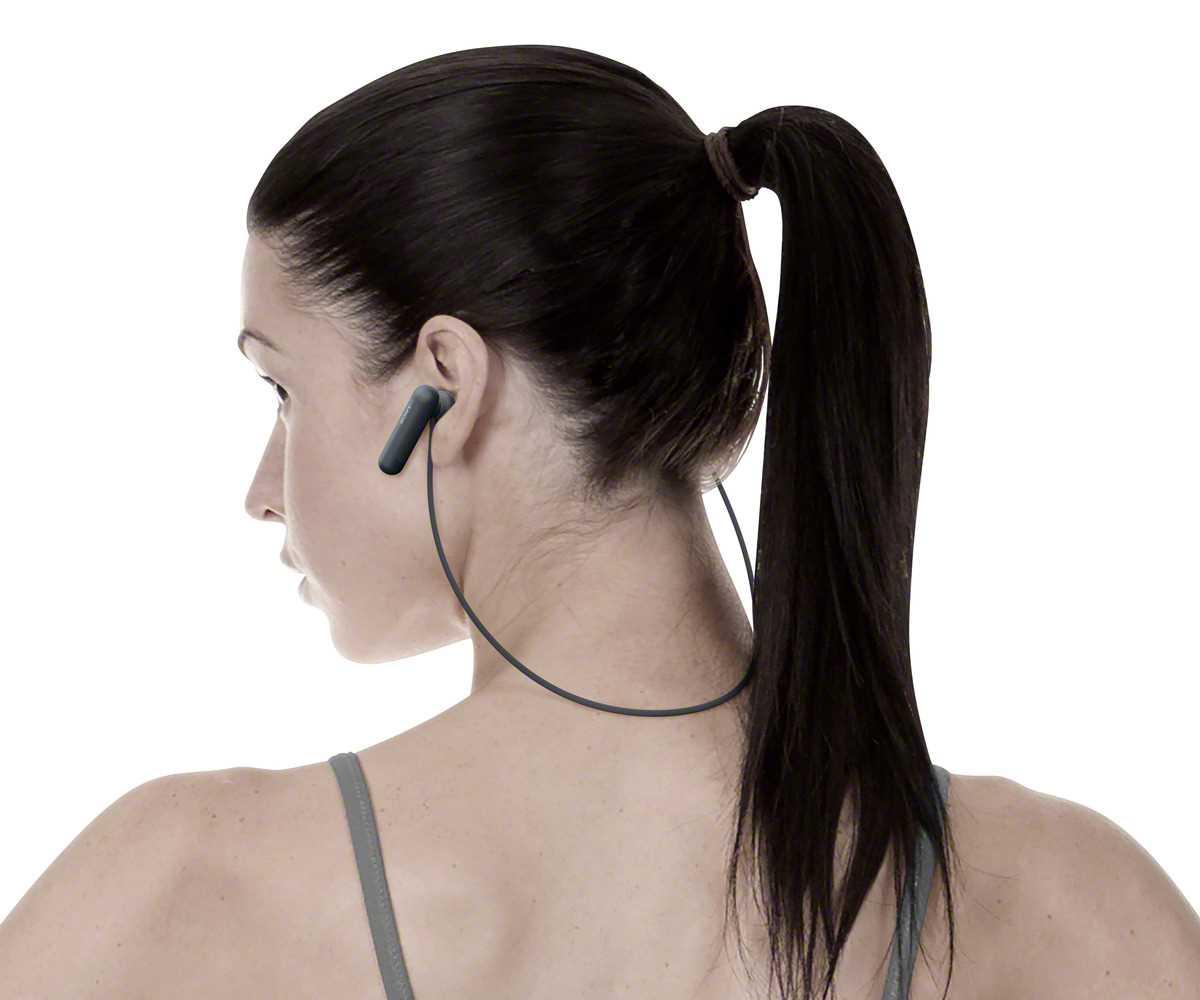אוזניות Sony WI-SP500B Bluetooth סוני - תמונה 5