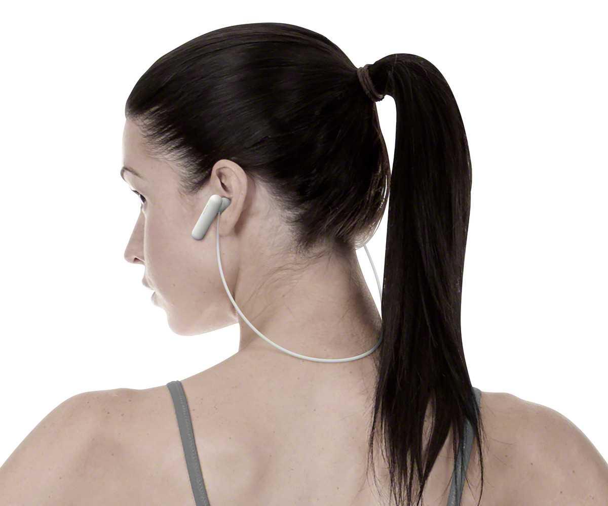 אוזניות Sony WI-SP500W Bluetooth סוני - תמונה 6