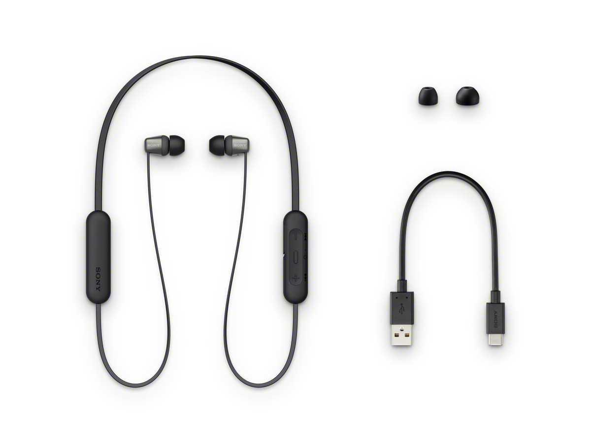 אוזניות Sony WI-C310B Bluetooth סוני - תמונה 7