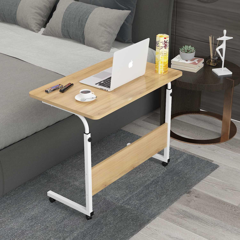 שולחן לפטופ דגם ALEX 80/40 צבע עץ טבעי - תמונה 2