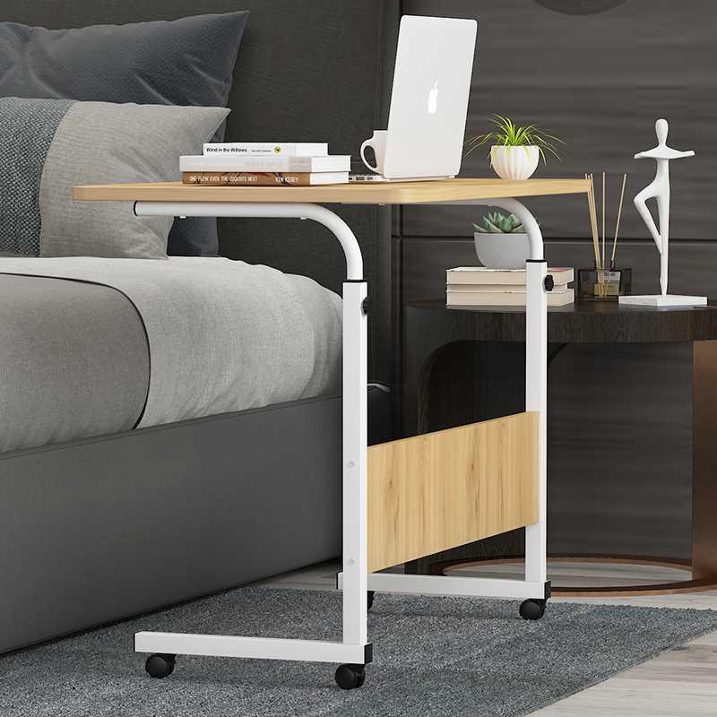 שולחן לפטופ דגם ALEX 80/40 צבע עץ טבעי - תמונה 7