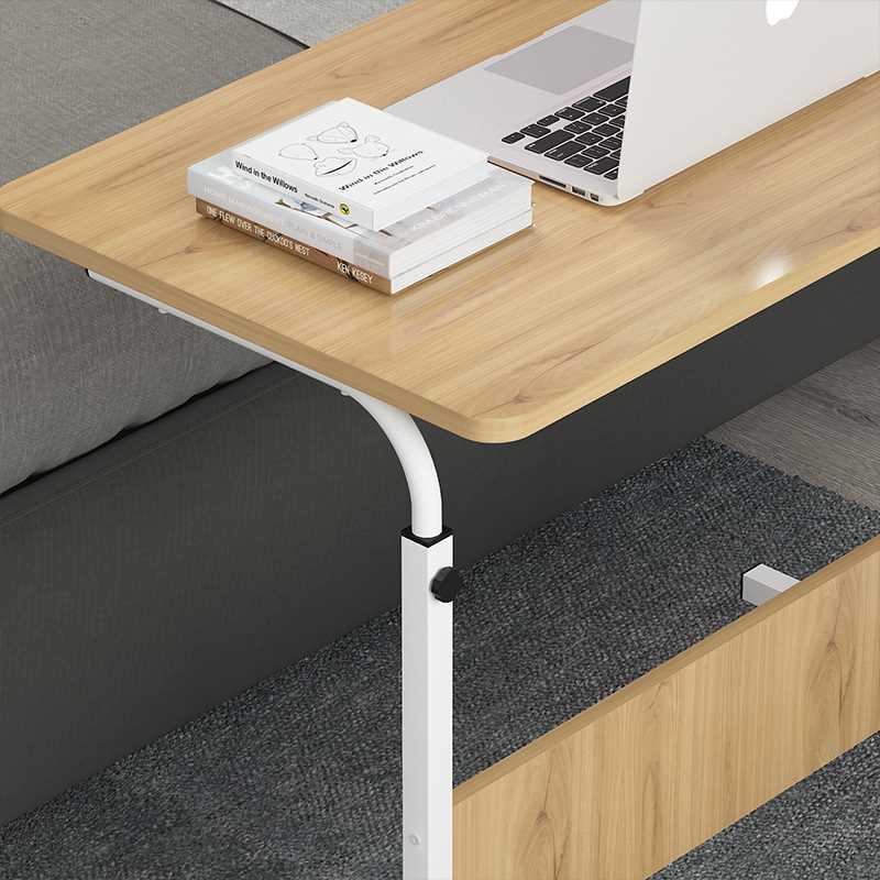 שולחן לפטופ דגם ALEX 80/40 צבע עץ טבעי - תמונה 8