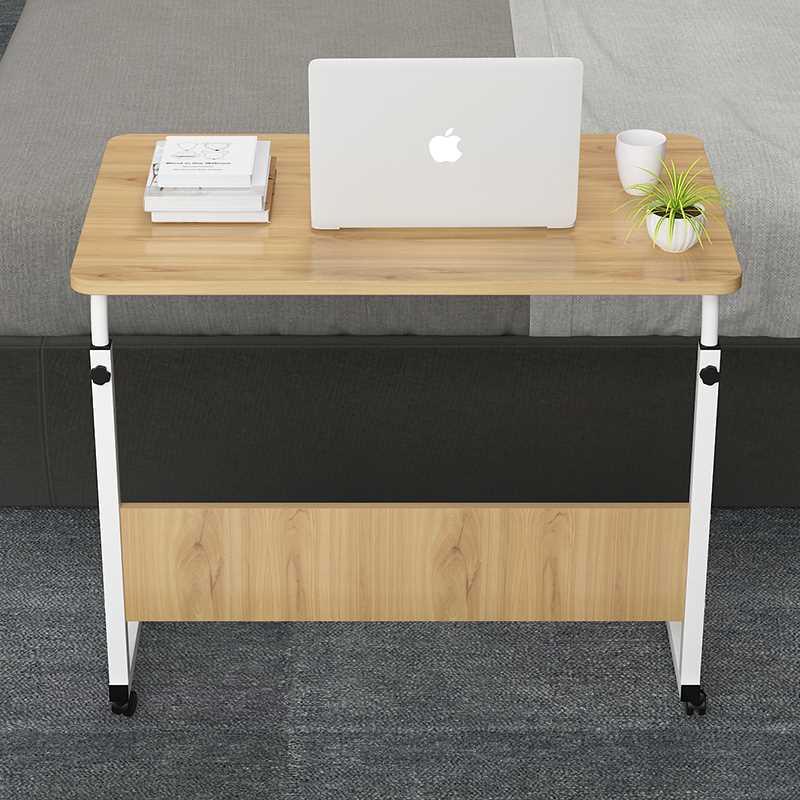 שולחן לפטופ דגם ALEX 80/40 צבע עץ טבעי - תמונה 5