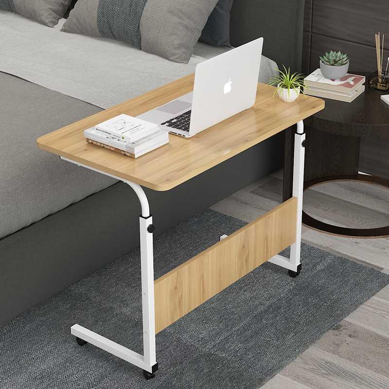 שולחן לפטופ דגם MARK 60/40 צבע עץ טבעי - תמונה 4
