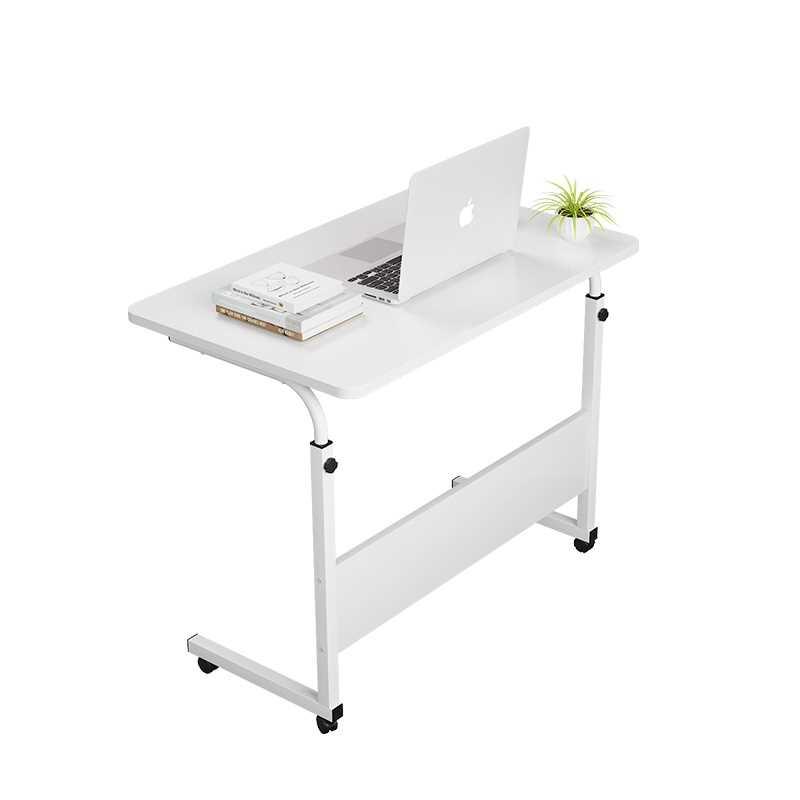 שולחן לפטופ דגם MARK 60/40 צבע לבן - תמונה 1