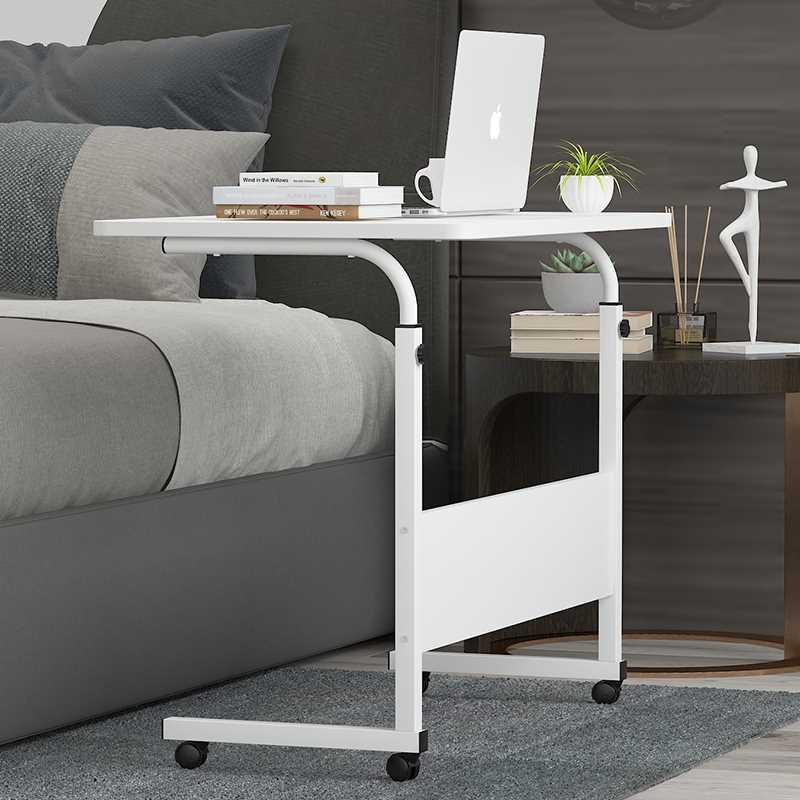 שולחן לפטופ דגם MARK 60/40 צבע לבן - תמונה 4