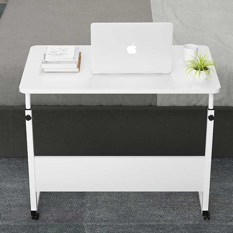 שולחן לפטופ דגם MARK 60/40 צבע לבן - תמונה 2